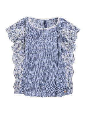 Блузка PEPE JEANS LONDON. Цвет: молочный
