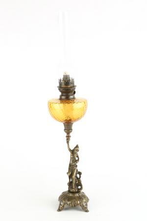 Керосиновая лампа  Амазонка Stilars. Цвет: бронзовый