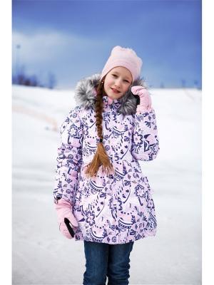 Пальто REIKE. Цвет: розовый