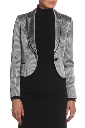 Пиджак MODART. Цвет: серебряный
