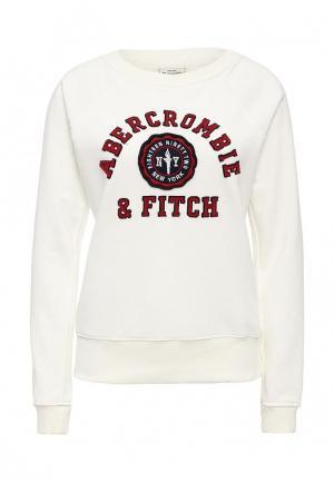 Свитшот Abercrombie & Fitch. Цвет: белый