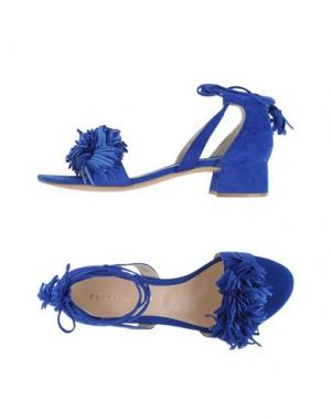 Сандалии BRUNO PREMI. Цвет: синий