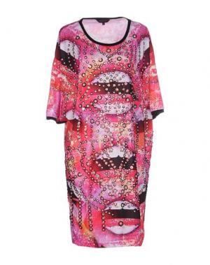 Короткое платье MANISH ARORA. Цвет: фуксия