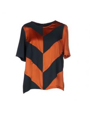 Блузка MILA SCHÖN CONCEPT. Цвет: оранжевый