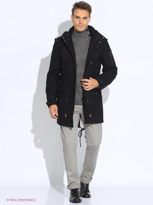 Пальто GZM. Цвет: черный