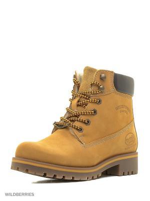 Ботинки DOCKERS.. Цвет: желтый