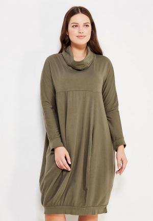 Платье Modis. Цвет: хаки