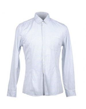 Рубашка с длинными рукавами GOLD CASE by ROCCO FRAIOLI. Цвет: небесно-голубой