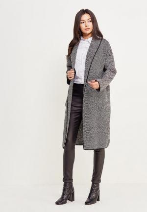 Пальто Noisy May. Цвет: серый