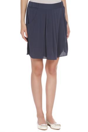 Юбка-шорты Armani Collezioni. Цвет: синий