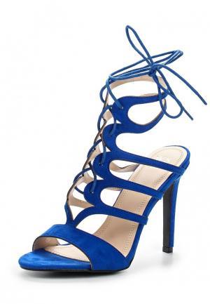 Босоножки WS Shoes. Цвет: синий