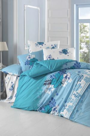 Double Quilt Cover Set Victoria. Цвет: blue, white, turquoise