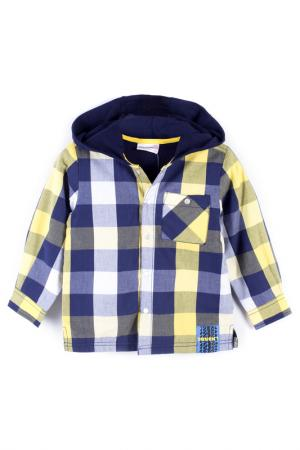 Рубашка Coccodrillo. Цвет: желтый, синий