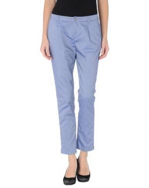 Повседневные брюки GOOD MOOD. Цвет: синий