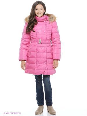Пальто Baby Line. Цвет: розовый