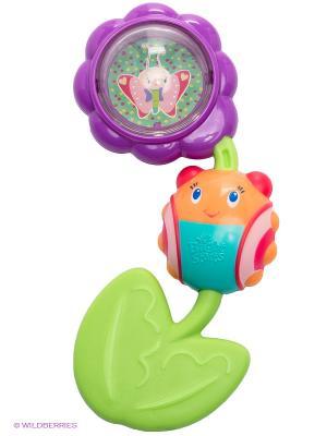 Игрушка-прорезыватель Божья коровка на цветочке BRIGHT STARTS. Цвет: салатовый, фиолетовый