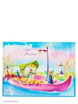 Набор Корабль королевы Фей Playmobil. Цвет: фуксия, белый, бирюзовый, желтый, зеленый