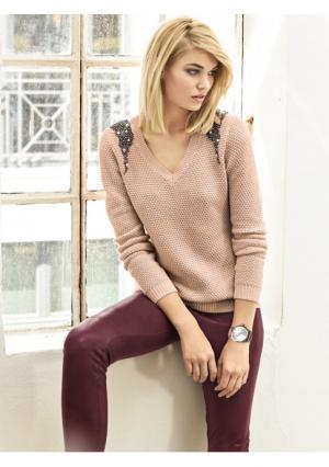 Пуловер RICK CARDONA by Heine. Цвет: мятный