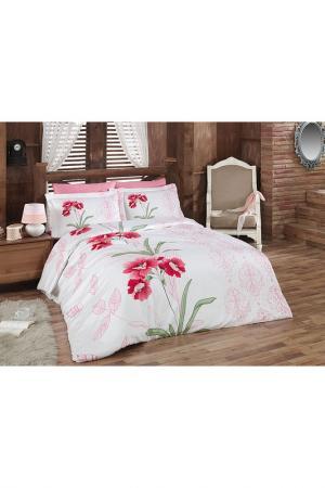 Комплект постельного белья Majoli Bahar Home Collection. Цвет: multicolor