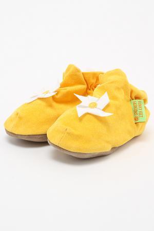 Туфли домашние Funky Feet Fashions™. Цвет: желтый