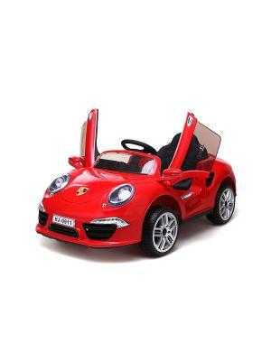 Машина аккумуляторная Порше 911 1Toy. Цвет: красный