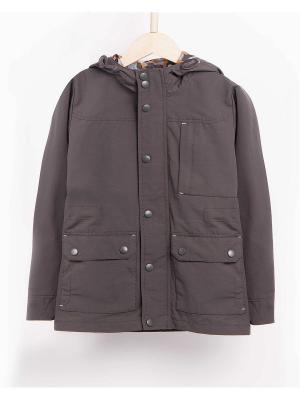 Куртка INCITY. Цвет: темно-зеленый