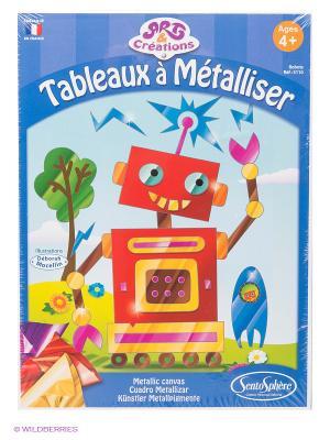 Набор для детского творчества Роботы SENTOSPHERE. Цвет: красный