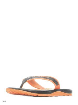 Шлепанцы Kapika. Цвет: оранжевый