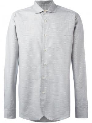 Рубашка на пуговицах Al Duca D'Aosta 1902. Цвет: зелёный