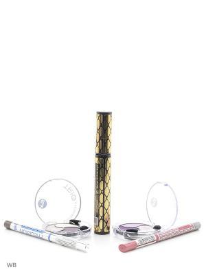 Спайка тушь secretale xtreme lashes mascara, тени trio eyeshadow,карандаш professional eye Bell. Цвет: черный, коричневый, розовый, светло-коричневый, светло-серый, серебристый, сиреневый, фиолетовый