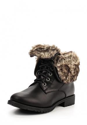 Ботинки Nio. Цвет: черный