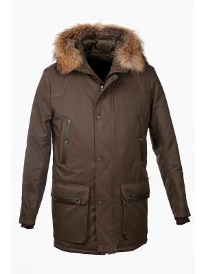 Куртка UID. Цвет: хаки