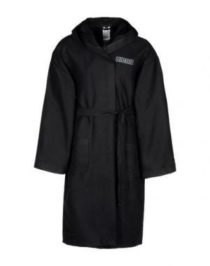 Банный халат ARENA. Цвет: черный