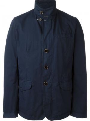 Куртка-блейзер Fay. Цвет: синий