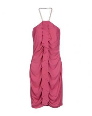 Платье до колена GAI MATTIOLO JEANS. Цвет: светло-фиолетовый