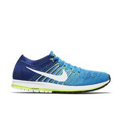 Беговые кроссовки унисекс  Zoom Flyknit Streak Nike. Цвет: синий