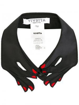 Воротник Cernia Vivetta. Цвет: чёрный