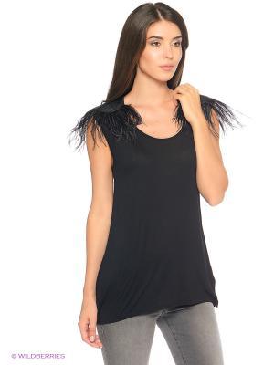 Блузка Trussardi. Цвет: черный