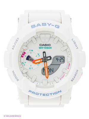 Часы Baby BGA-185-7A CASIO. Цвет: белый
