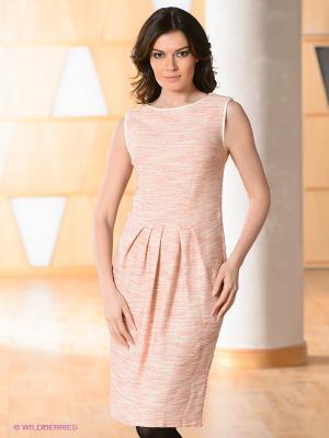 Платье Vaide. Цвет: бледно-розовый