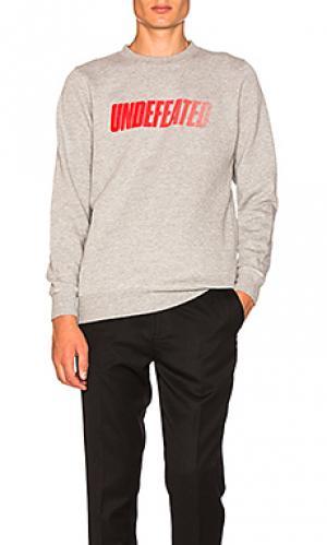 Пуловер speed tone Undefeated. Цвет: серый