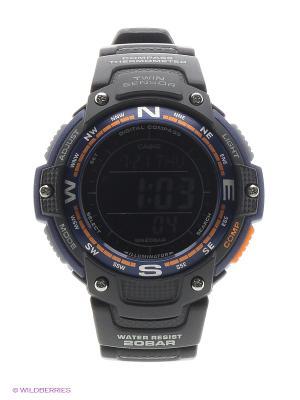 Часы Casio SGW-100-2B. Цвет: черный