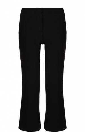 Укороченные расклешенные брюки с карманами Burberry. Цвет: черный