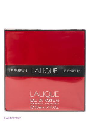 Парфюмированная вода LE PARFUM DE LALIQUE, 50 мл LALIQUE. Цвет: красный, прозрачный