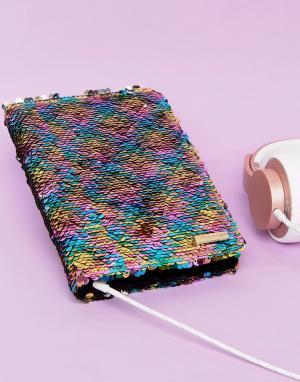 Skinnydip Чехол для iPad Mini с разноцветными пайетками. Цвет: мульти