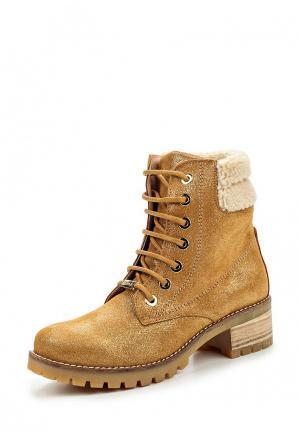 Ботинки Cuple. Цвет: золотой