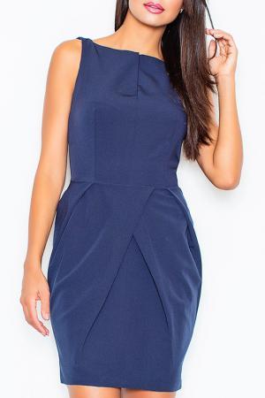 Платье Figl. Цвет: navy blue