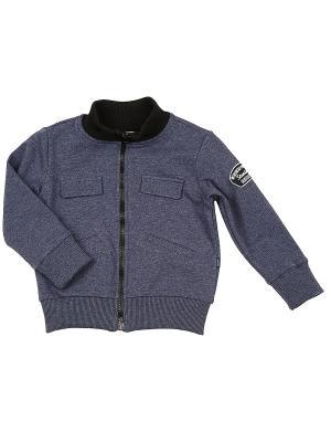 Куртка Mini Maxi. Цвет: серый