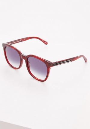 Очки солнцезащитные Stella McCartney. Цвет: бордовый