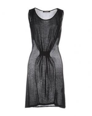 Короткое платье LOVE SEX MONEY. Цвет: черный